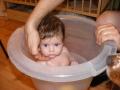 Amelka w kąpieli