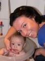 Bruno z ciocią Anją