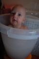 Mikołaj w kąpieli...