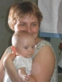 Mariuszek z mamą