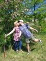Nordic walking z brzuszkiem 5